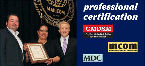 Certification – MAILCOM