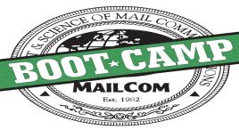 MAILCOM BOOT CAMP